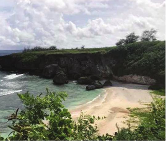 旅游胜地拉登海滩4500平方米海景平 地