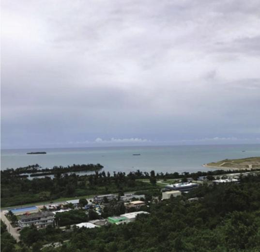 市中心海军山加那班海景地